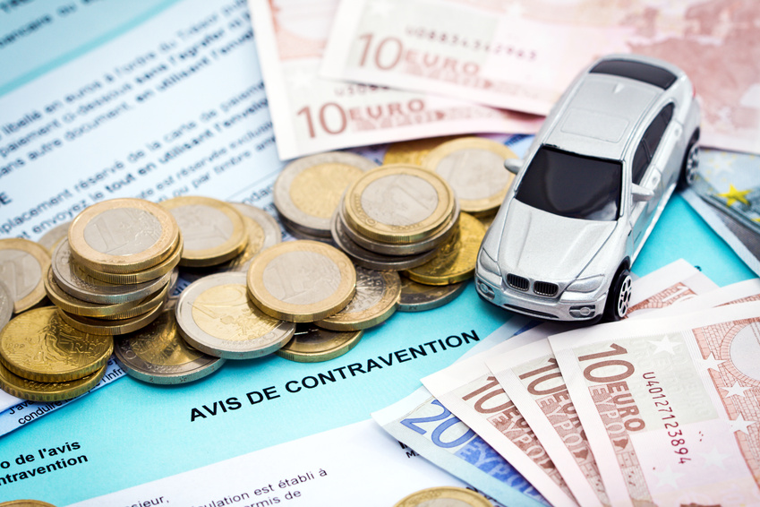 Paiement de contravention
